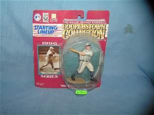 Jimmie Foxx baseball sports figure and baseball card