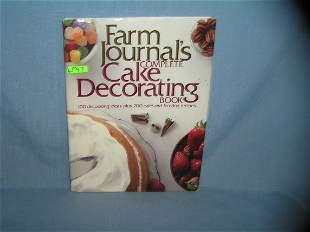 Vintage Cake Decorating cookbook
