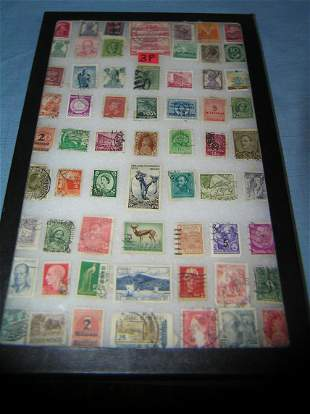 Large collection of vintage postage stamps