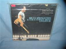 Bruce Springsteen and the E Street band live record