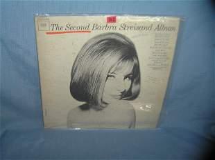 Barbara Streisand vintage record album