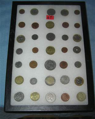 Collection of brilliant uncirculated US state quarters