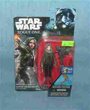 Star Wars action figure mint on card