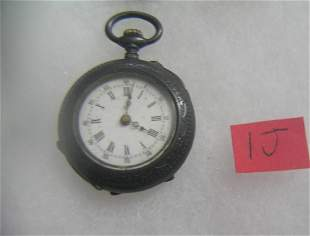 Antique 800 fine silver pocket watch