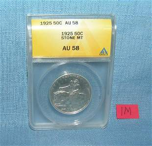 1925 silver Stone Mountain half dollar commemorative