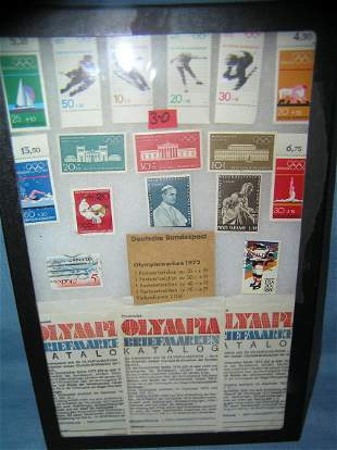Great collection of Olympic postage stamps