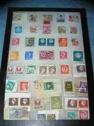 Great collection of worldwide postage stamps