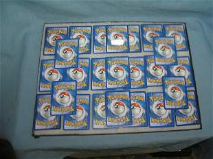 Large collection of vintage Pokemon collector cards