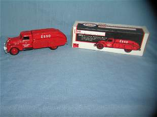 Esso all cast metal tanker truck bank