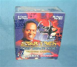 Star Trek nonsports cards factory sealed unopened box