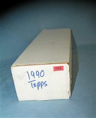 1990 Topps baseball card set
