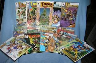Turok the dinosaur hunter vintage comic books