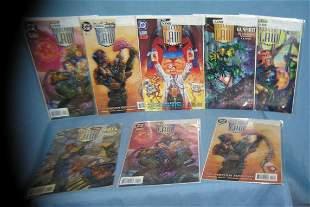 Judge Dredd Legions of the Law vintage comic books