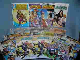 Archer and Arm Strong vintage comic books