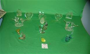 Large collection of collectible paper weights
