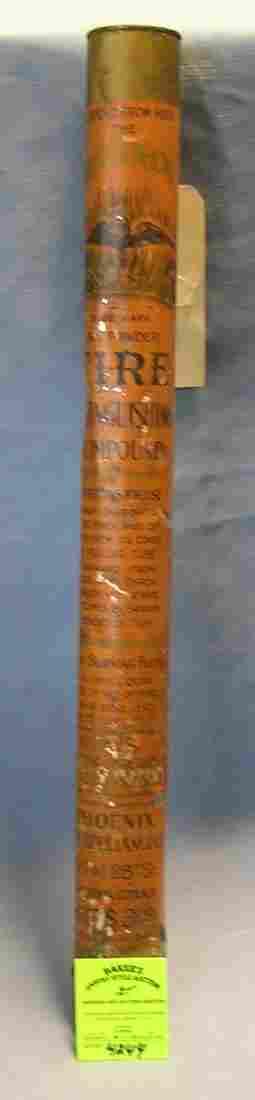 Phoenix antique fire extinguishing compound canister