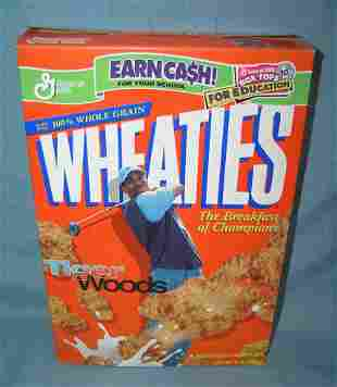Tiger Woods Wheaties box