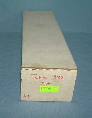 Topps 1988 baseball card set