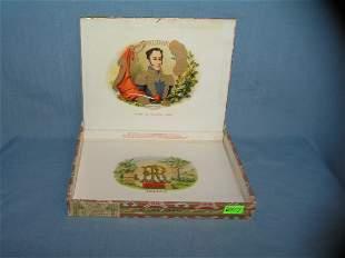 Early cigar box