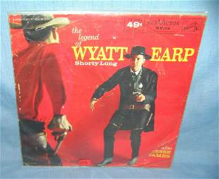 The Legend of Wyatt Earp early 78 rpm record
