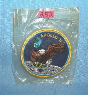 Rare Apollo 11 large first man on the moon landing