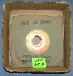 Mixed group of vintage 45 RPM records