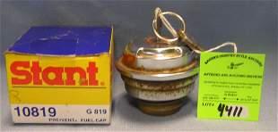 Modern gas cap lock with box
