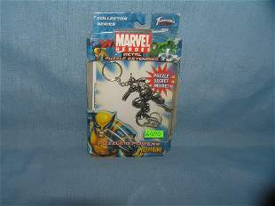 Wolverine Marvel comic book figural puzzle key chain