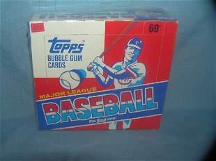 Topps 1988 unopened box 24 packs in store display box