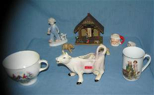 Large group of vintage figurines and collectibles