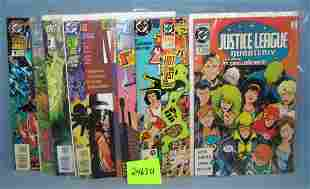 Group of vintage DC first edition comic books