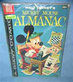 Great early walt disney Almanac giant size comic