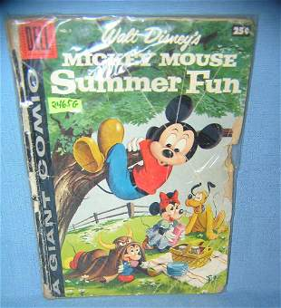 Great early walt disney Mickey mouse giant size comic