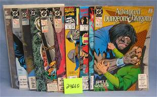 DC and Marvel comic books