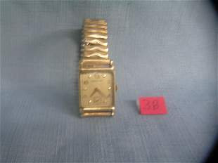 Antique Hamilton 14K gold filled men's wrist watch
