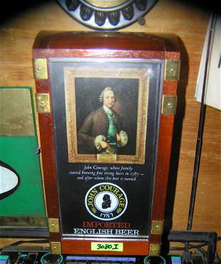 Early John Courage English beer display piece
