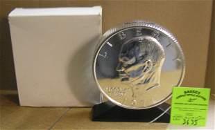 Eisenhower Bicentennial dollar coin bank
