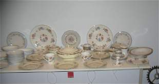 Huge 75 piece dinnerware group