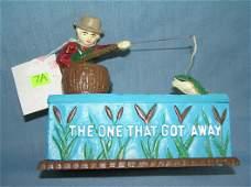 The one that got away fisherman mech. bank