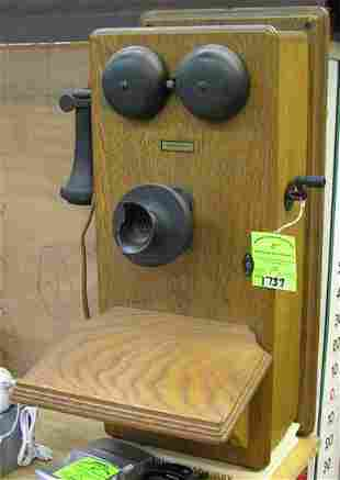 Antique telephone by Western Electric