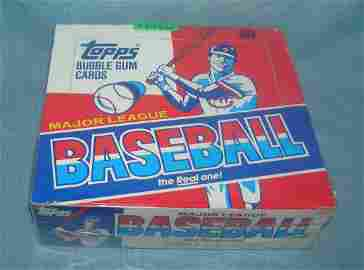 Topps 1988 factory packed baseball card box