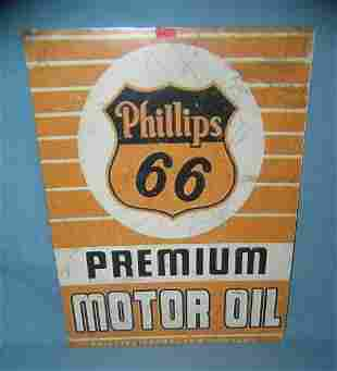 Phillips 66 motor oil retro style advertising sign
