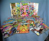 Large collection of vintage Xmen comic books