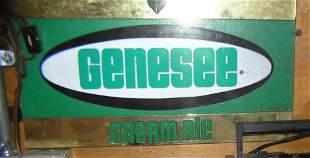 Genesee Cream Ale advertising display piece