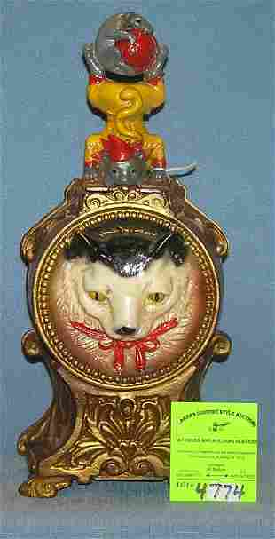 Vintage Cat and Mouse mechanical bank