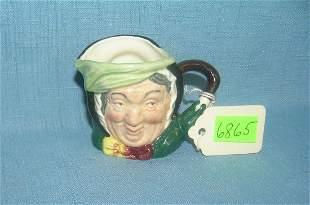 Royal Dalton figural Toby mug