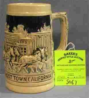 Vintage Knott's Berry Farm Ghost Town beer stein