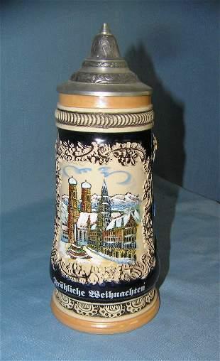 Vintage German beer stein