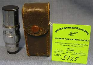 Early Voter lens in original Voter leather case