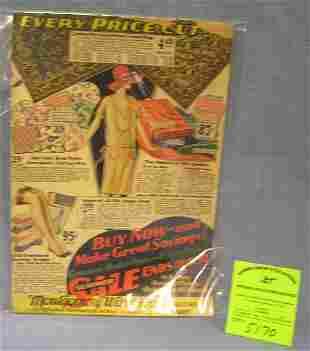 Original Montgomery Ward and Co. sales catalog